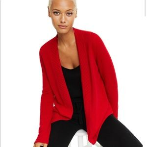 CHARTER CLUB Cashmere Open-Front Cardigan